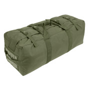Enhanced Nylon Duffle Gear Bag - Top Strap View