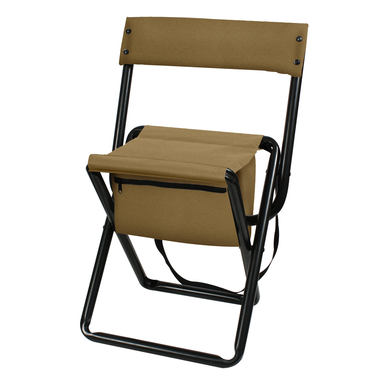 Shop Deluxe Coyote Brown Folding Chairs Fatigues Army Navy