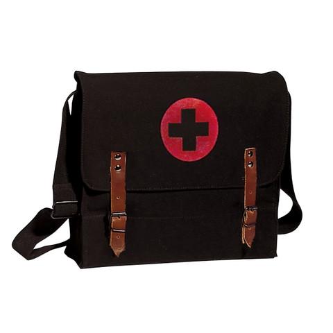 Black Canvas Nato Medics Bag - View