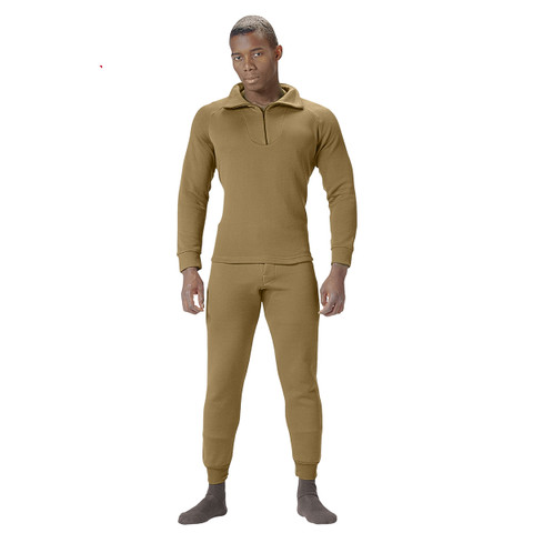 AR 670-1 Coyote Brown ECWCS Polypro Bottoms - View