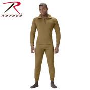 AR 670-1 ECWCS Polypro Zip Collar Neck Shirt - Rothco View