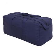 Navy Blue Jumbo Tactical Cargo Gear Bag - View