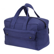 Navy Blue Canvas Mechanics Tool Bag - View