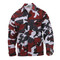 Red Camo Color BDU Fatigue Shirt - View