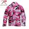 Pink Camo Color BDU Fatigue Shirt - Rothco View