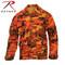 Savage Orange Camo Color BDU Fatigue Shirt - Rothco View