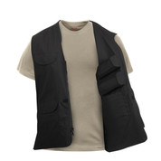 Lightweight Professional Concealed Carry Vest - Open View
