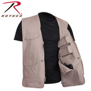 Lightweight Professional Khaki Concealed Carry Vest - Rothco View