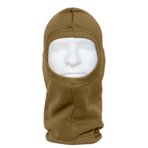 AR 670-1 Coyote Polypro Balaclava Face Mask - View
