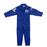 Kids NASA Flight Suit w/ Patches - View