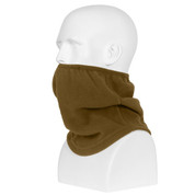 Coyote Brown Polar Fleece Contoured Neck Gaitor - View