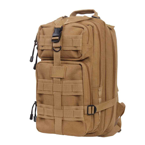 Tactical Canvas Go Pack - Front View
