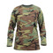 Rothco Woman's Camo Long Sleeve T Shirt - Front View