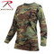 Rothco Woman's Camo Long Sleeve T Shirt - Rothco Brand