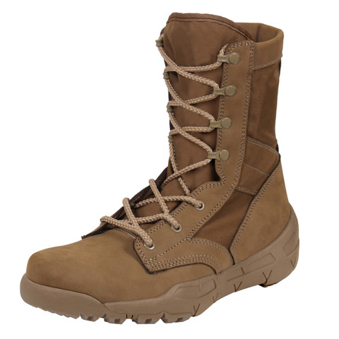 AR 670-1 Coyote V-Max Lightweight Tactical Boot  - View