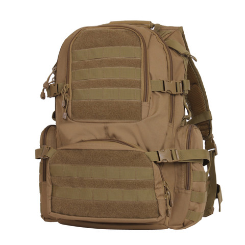 Multi Chamber MOLLE Assault Pack - Front View