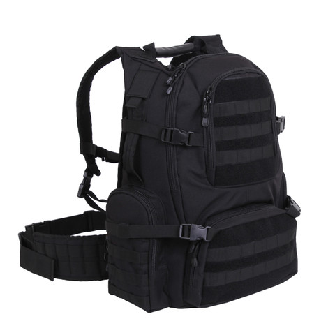 Multi Chamber MOLLE Assault Pack - View