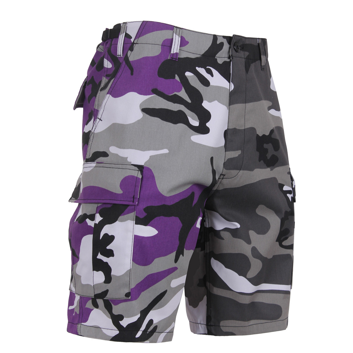 8b95ba0a140b9 Shop Two/Tone Camo BDU Shorts - Fatigues Army Navy