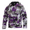 Rothco Purple Camo Anorak Parka - Front View