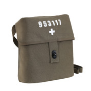 Swiss Army Style Military Shoulder Bag - View