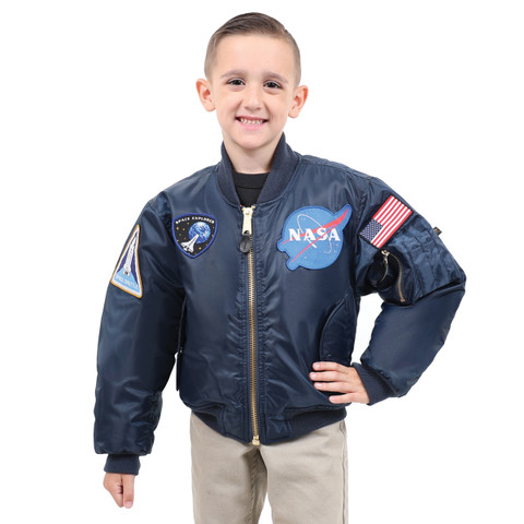 Rothco Kids NASA MA-1 Flight Jacket - View