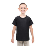 Kids Tactical Black T Shirt - Kids View