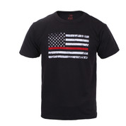 Kids Thin Red Line T Shirt - View