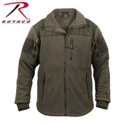 Olive Drab Spec Ops Tactical Fleece Jacket - Rothco View