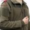 Olive Drab Spec Ops Tactical Fleece Jacket - Detail View