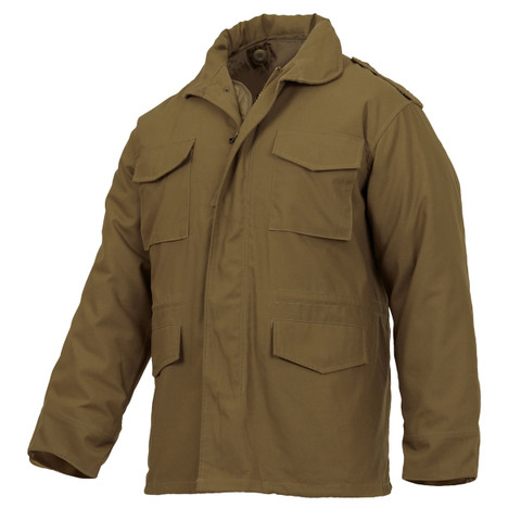 Coyote Brown M-65 Field Jackets - View