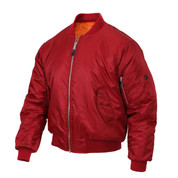 Rothco Red MA-1 Flight Jacket - View