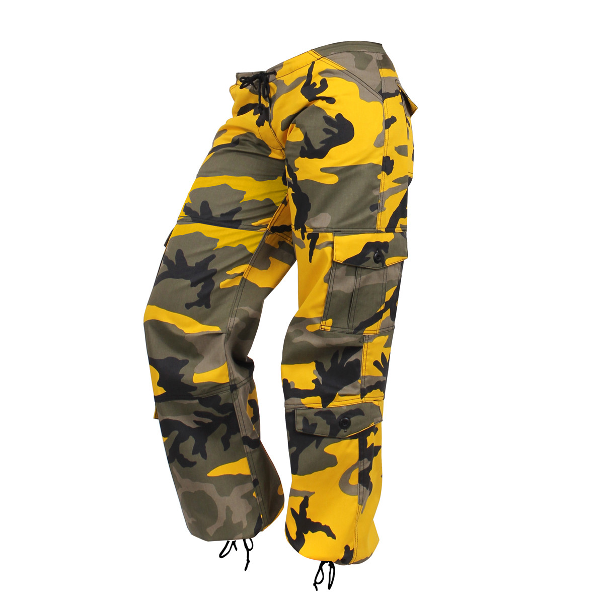 Shop Womens Yellow Camo Fatigue Pants - Fatigues Army Navy Gear 8f214b7de8