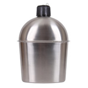 GI Style Stainless Steel Canteen - View