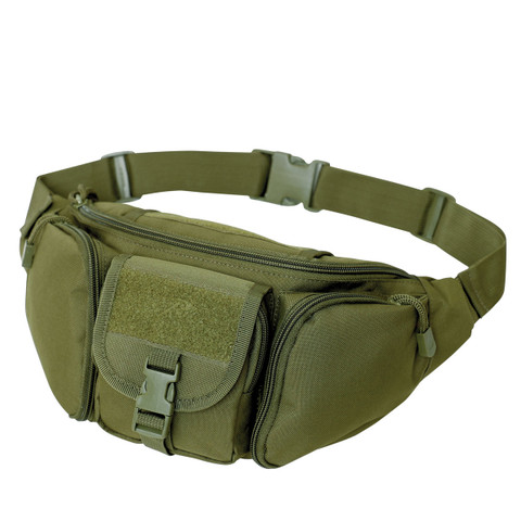 Olive Tactical Concealed Carry Waist Pack - View