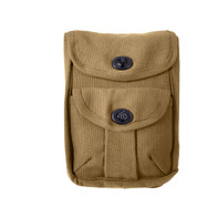 2 Pocket Canvas Field Pouch - View