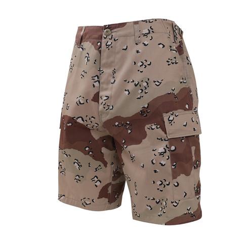 6 Color Desert Camo BDU Military Shorts - View