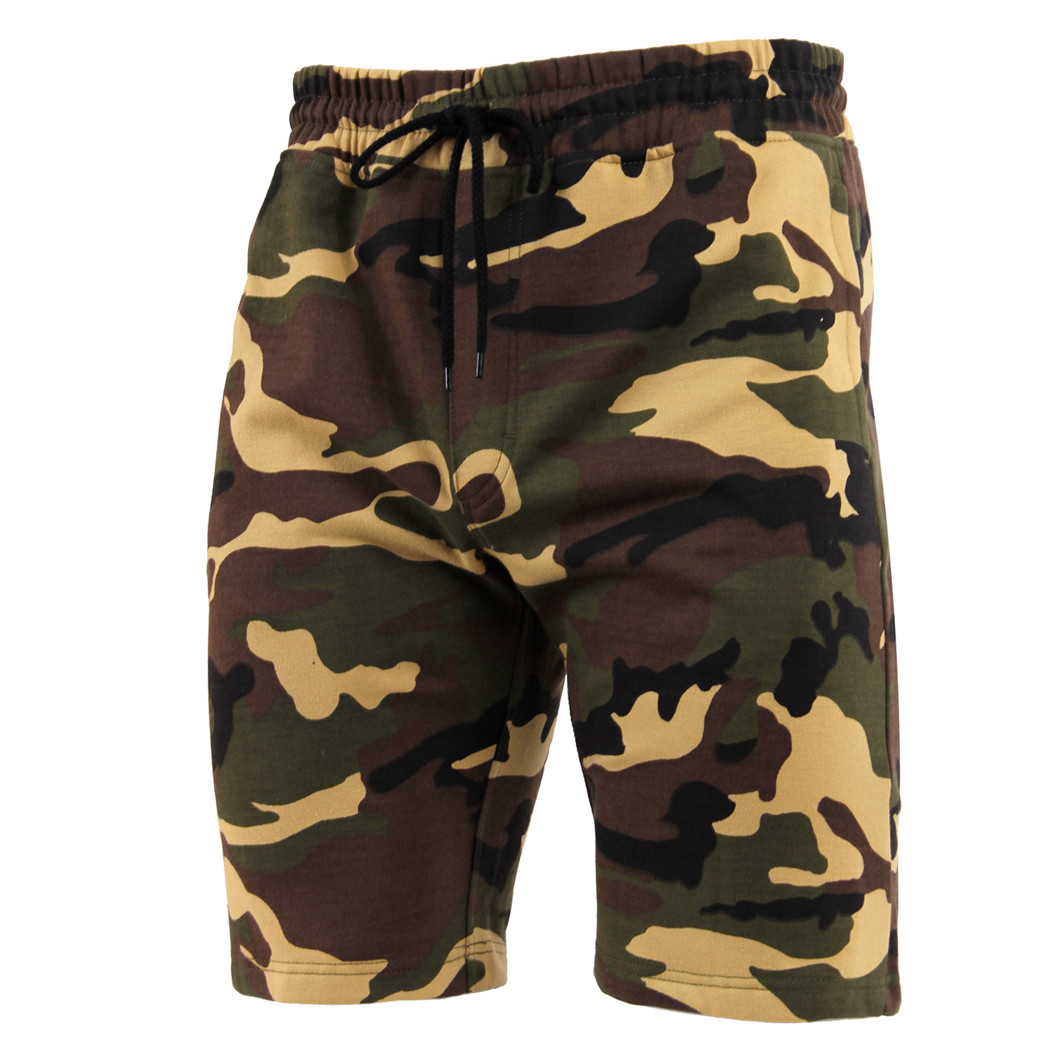 4f760af1d8 Shop Camo Sweat Shorts - Fatigues Army Navy Gear