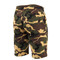 Camo Sweat Shorts - Back View
