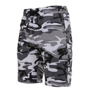 City Camo Sweat Shorts - View