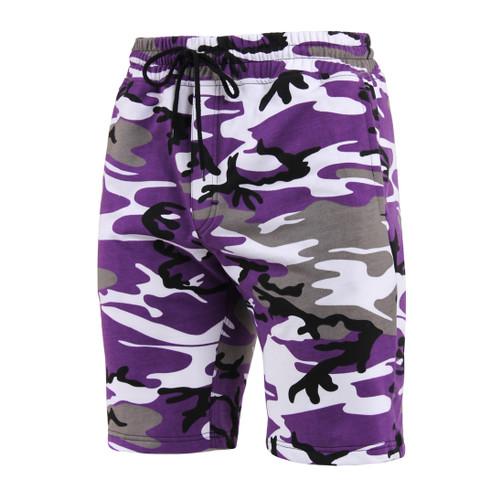 Camo Sweat Shorts - View