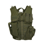 Kids Military Tactical Cross Draw Vest - View