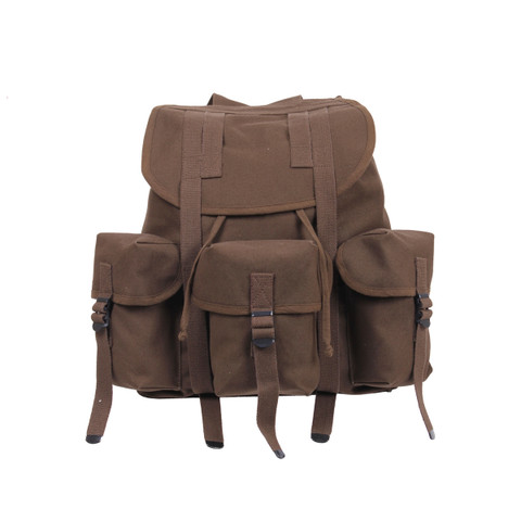 Kids Earth Brown Ranger Backpack - View