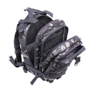 Kids Tactical Digital Camo Transport Backpack - Open View