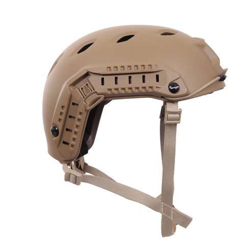 Advanced Tactical Adjustable Airsoft Helmet - Side View