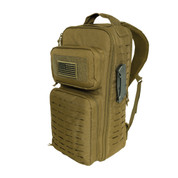 Tactical Single Sling Pack w/ Laser Cut MOLLE - Left Side View