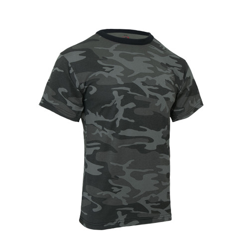Black Camo Shirts - View