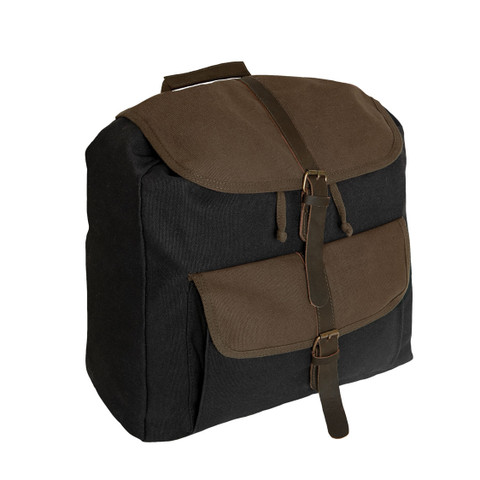Grand Adventure Canvas Rucksack - Side View