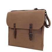 Brown Jumbo Canvas Medic Bag - View
