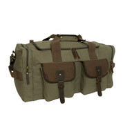 Long Journey Canvas Travel Bag - Front View