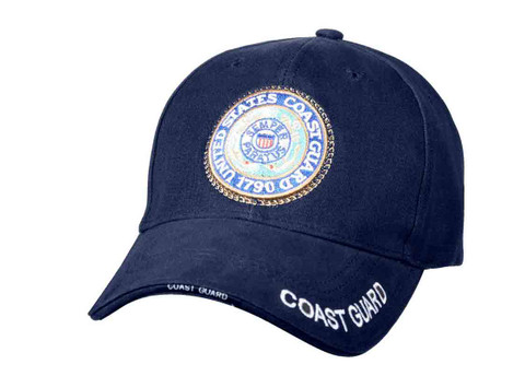US Coast Gaurd Low Profile Cap - View